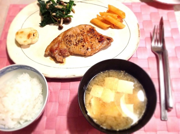 おうち洋食屋さん☆ポークソテー