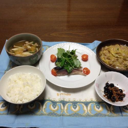 とろとろ白菜であったまろ♫夕食