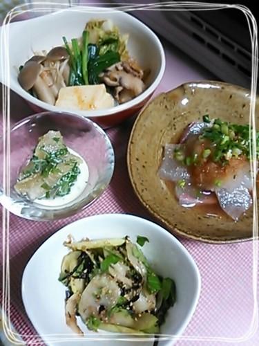 晩酌(14.1.19 キムチ鍋でポカ②)