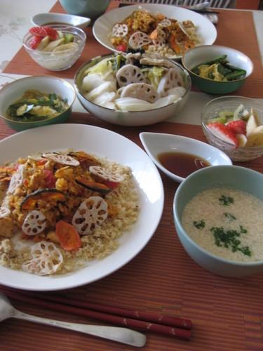 ほっこり体に優しい休日の食卓⑩(昼食)