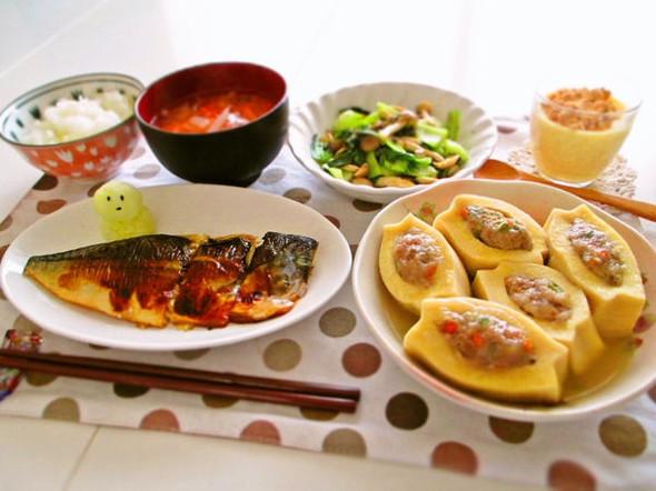 肉も魚もお豆腐も♡満腹和食