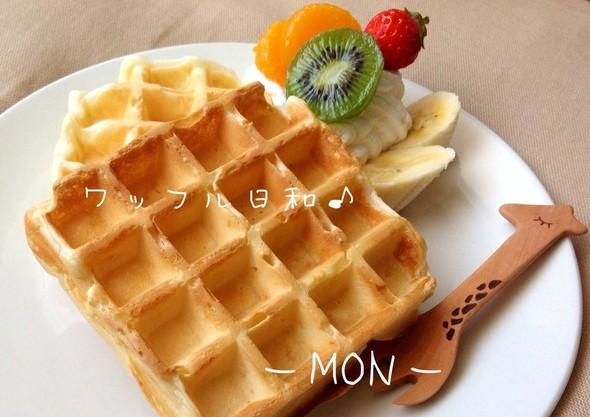 甘い朝食( ´ ▽ ` )ノ