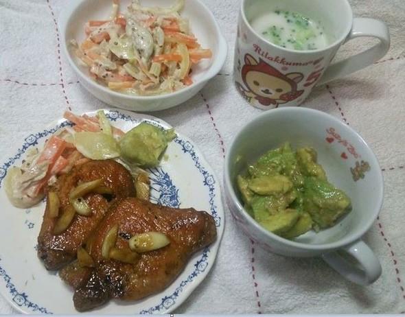 14.3.19(木)夕食♪洋風でどや!♡