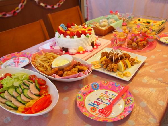 8歳 お友達とお誕生日会