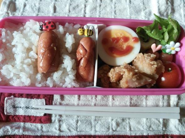 娘のお弁当♪2014 *04 *16