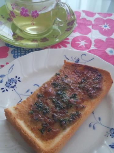☆アンチョビマヨで美味しいトースト☆