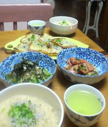 12.11.17(土)卵入りお粥味噌風味