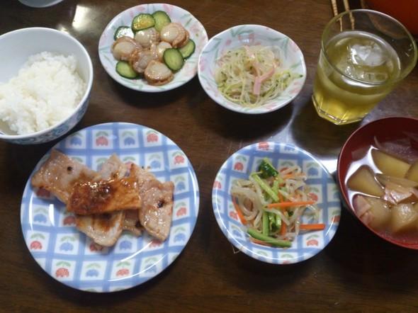 2014.6.27 夕御飯