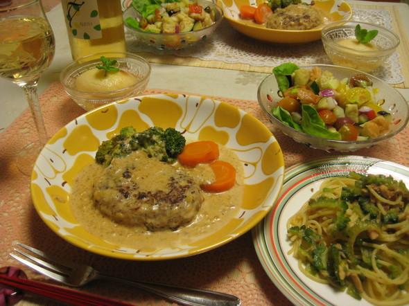 季節の献立(夏)❀お肉と夏野菜で晩御飯⑦
