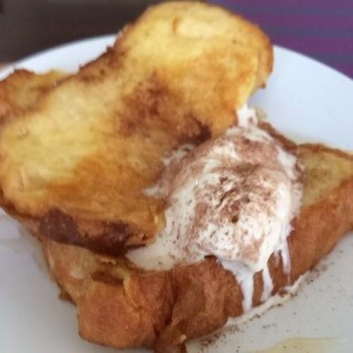 豆乳のフレンチトースト