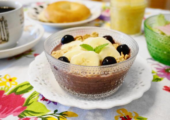 朝食☆塩レモン入り☆アサイーボウル