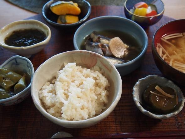 作り置き惣菜で簡単豪華な昼ごはん☆