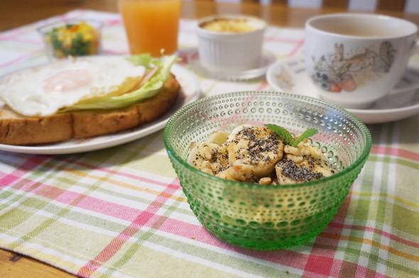 朝食☆目玉焼きベーコントースト