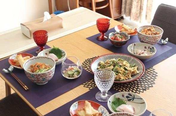 ピリ辛素麺で夏バテ防止ディナー