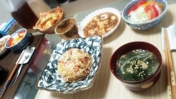 中華な晩御飯