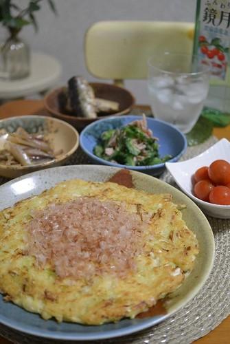 14.09.05(金)豆腐のお好み焼き★