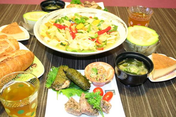 2014.9.7 メロン収穫夕食