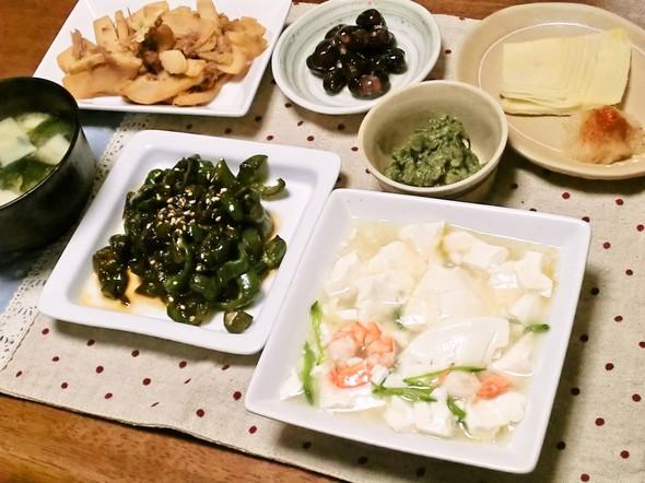 うま煮でほっこり&旬食材で美味しい夕食♪