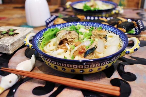 鯖の水煮缶とお豆腐de晩ごはん♪