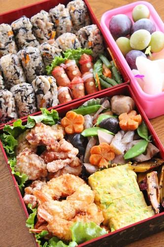 運動会のお弁当☆2014☆