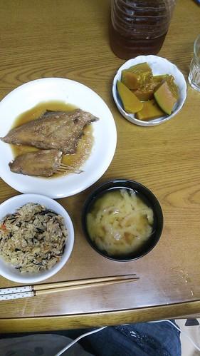 9月29日(月) 夕食