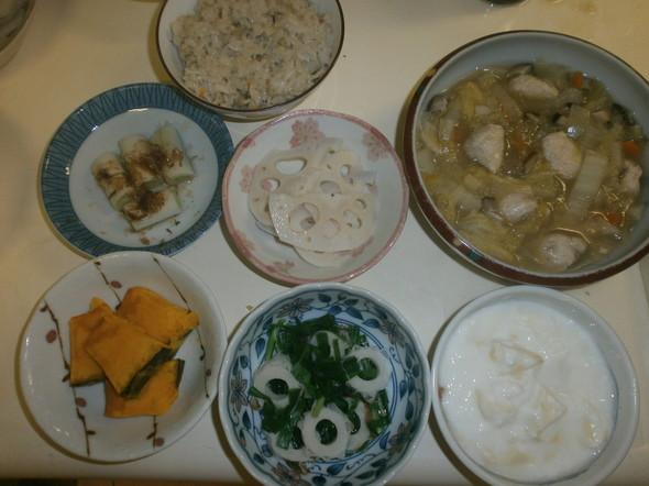 帆立と舞茸の炊き込みご飯