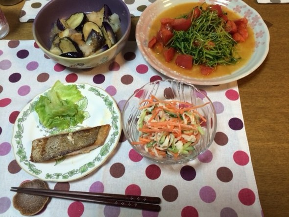 11月2日(日)夕御飯