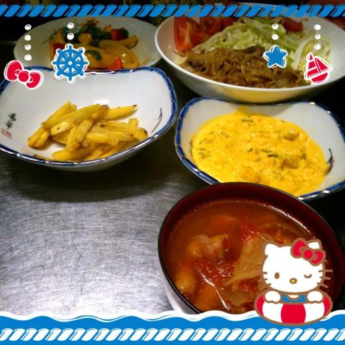☆あらたママのMy日Menu(朝食)☆
