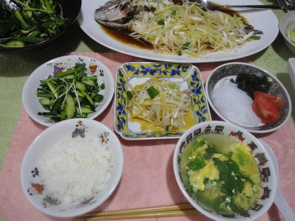 ☆お魚メインの中華☆