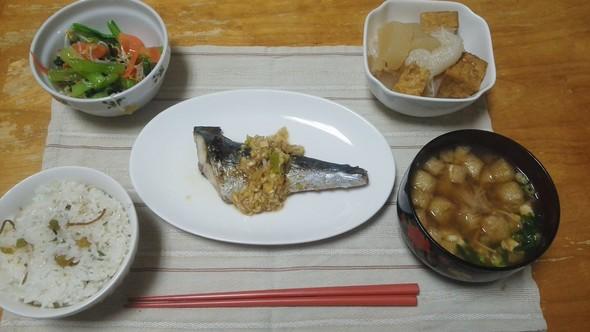 2014/11/26 夕食