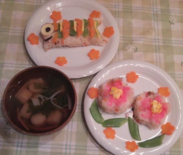 晩御飯21(こどもの日)