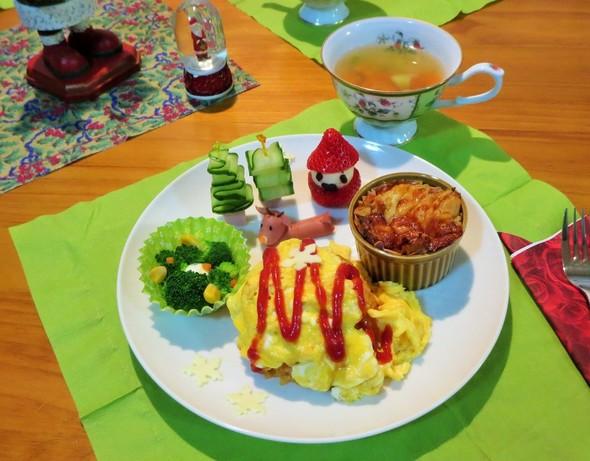 ささやかなクリスマス夕食◆12.24