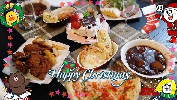クリスマスケーキ&ビーフシチューディナー