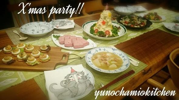 2014Xmas party♡