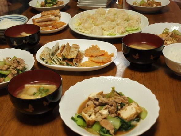 豚のオイスター炒めで晩御飯(1/23)