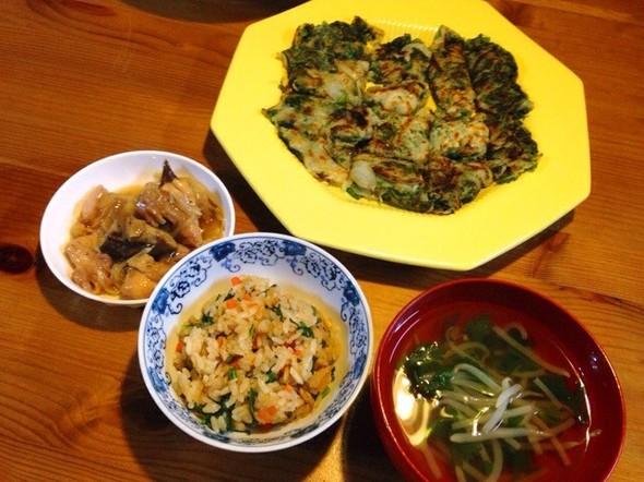 中華風 春菊定食