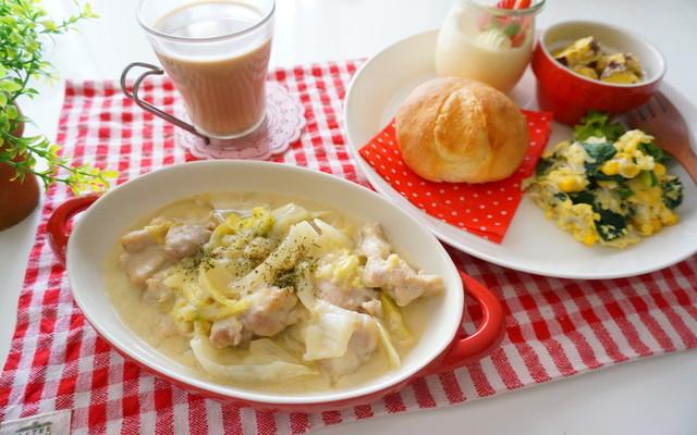 鶏胸肉 白菜 クリーム煮の献立 クックパッド 簡単おいしいみんなの