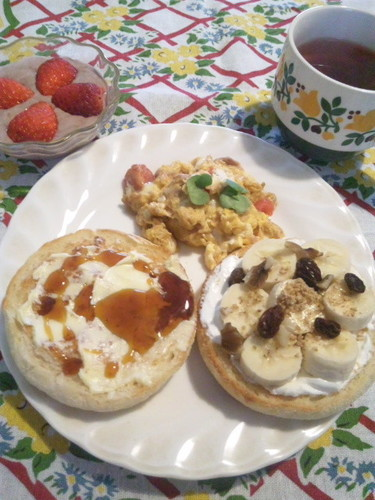 綺麗になれるかも♥な朝食