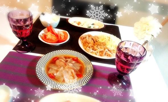 鯛のカルパッチョ柚子胡椒×リゾット