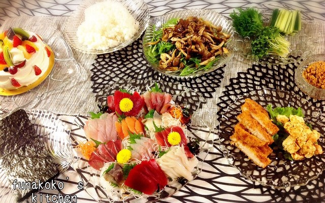 献立 寿司 手 巻き