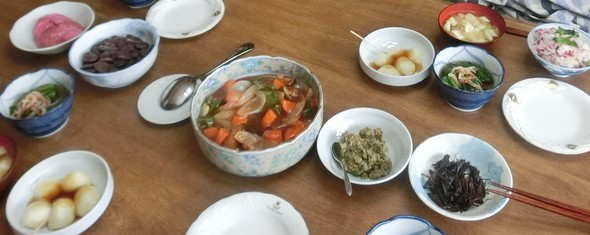 おばあちゃんと酢魚のお家ご飯