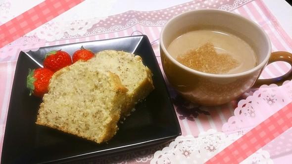 紅茶のパウンドケーキ20150412