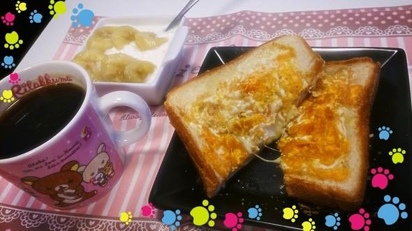 チーズたまごトースト20150503