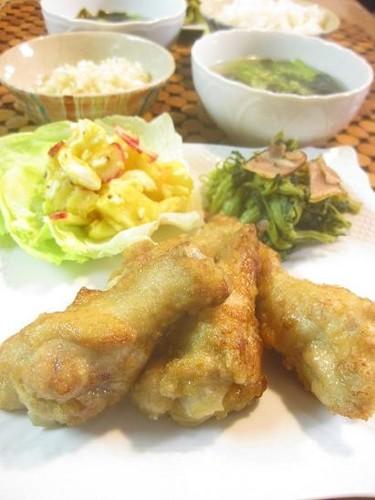 オッサンの晩飯 ☆皆大好き鶏の唐揚げ☆