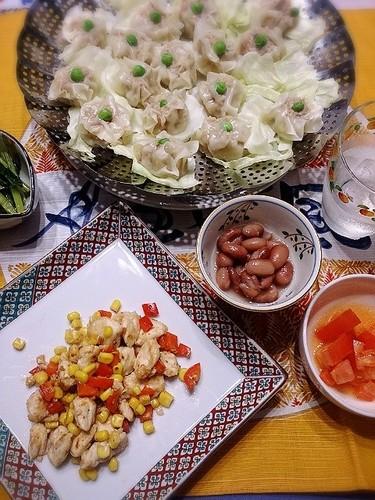 中華とお惣菜で栄養バランス◎!