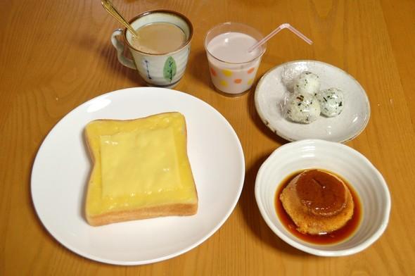 息子とパパの朝食【2015.6.5】