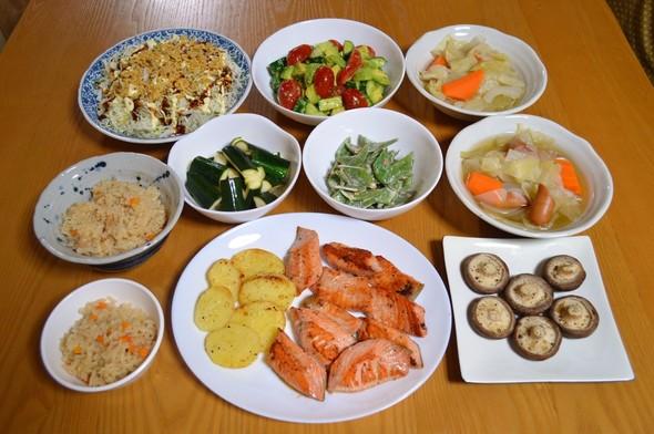 我が家の晩ご飯【2015.6.9】