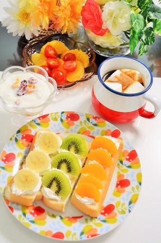 6/14フルーツいっぱい初夏の風薫る朝食