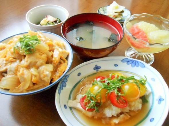 ☆親子丼de晩ごはん☆