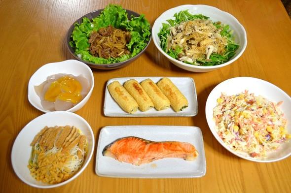 わがやの晩ご飯【2015.7.6】